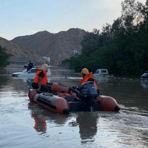 Saudi Arabia Experienced Unusually Heavy Rainfall Events in 2021