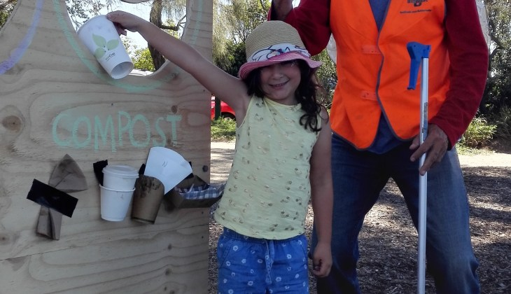 composting at events