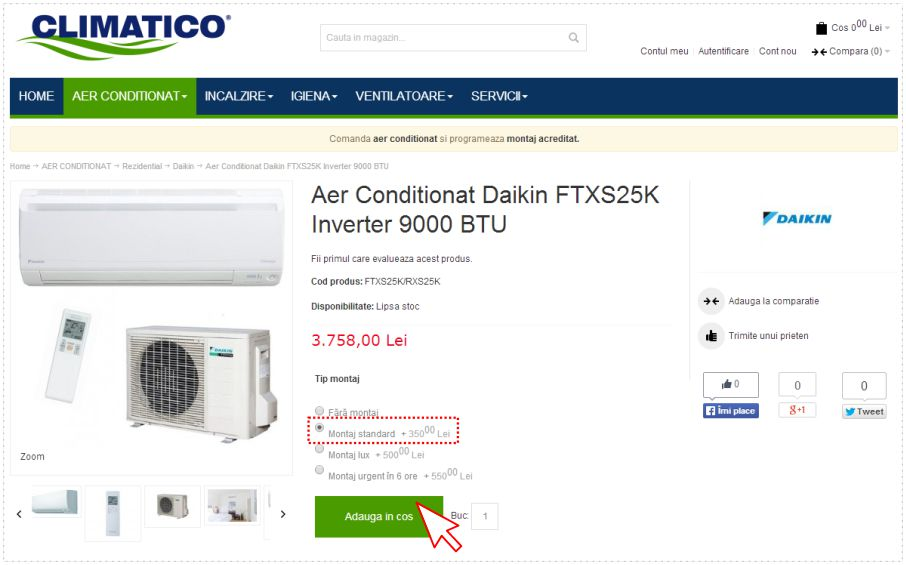 Aer Conditionat Preturi Promotionale Climatico