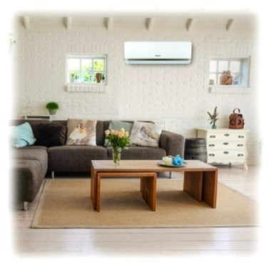 Gree Bora A2 Golden - aer conditionat - design interior
