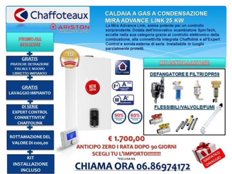 CALDAIA A GAS A CONDENSAZIONE  MIRA ADVANCE LINK 25KW € 1.700,00 INSTALLAZIONE INCLUSA