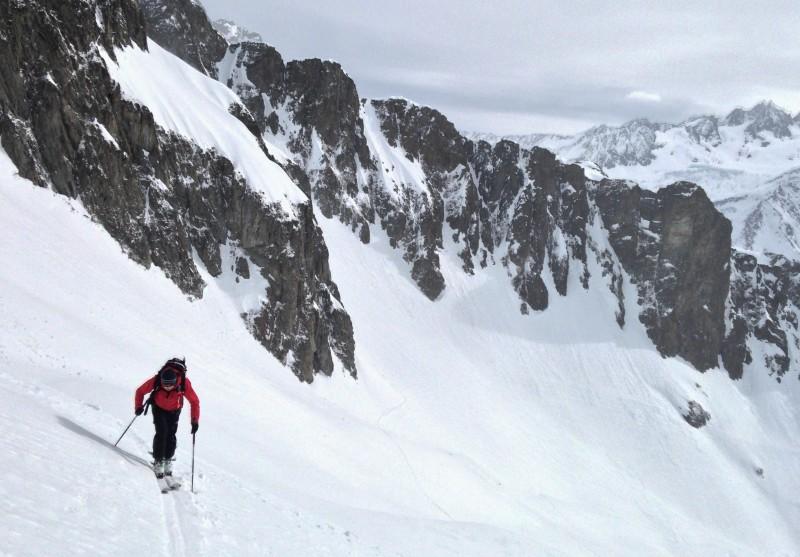 Climb to Col des Crochues