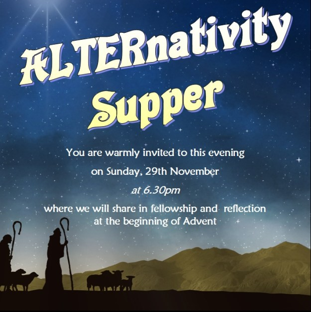 Alternativity Supper 2015
