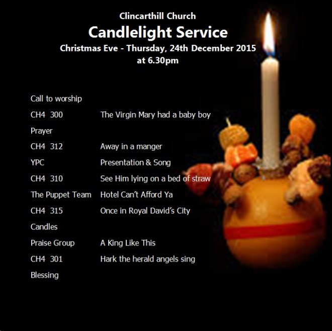 Candlelight Service 24-12-15
