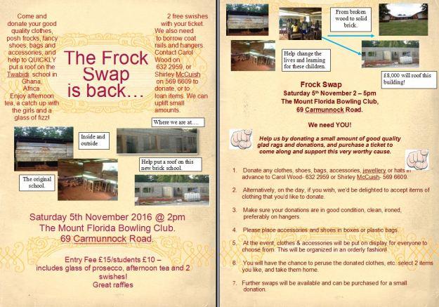 Frock swap Oct 2016