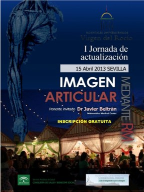 Cartel I Jornadas Imagen Articular