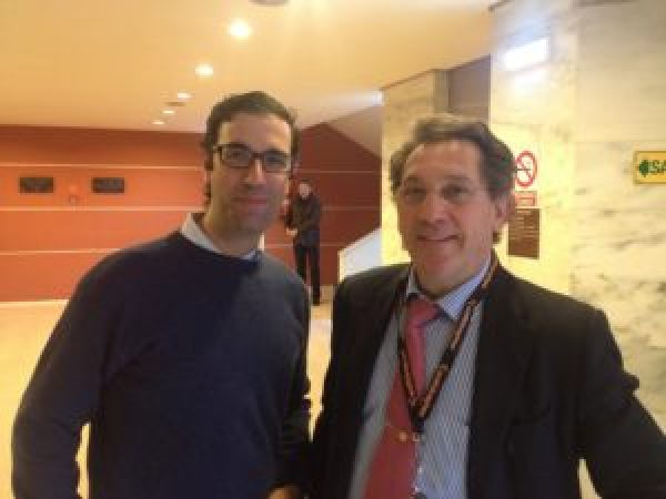 Drs Bernladez y Mikel Sanchez. 6 th International Arthrscopy Course