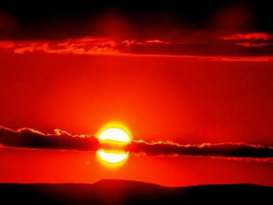 Dia das maes foto por do sol