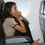 Fear of flying: panic attack