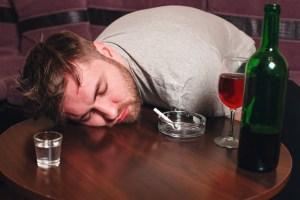 Binge drinking and binge smoking