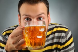 Overactive bladder treatment drinking alcohol