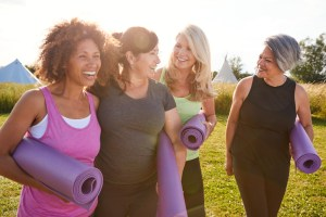 Social exercise to relieve stress