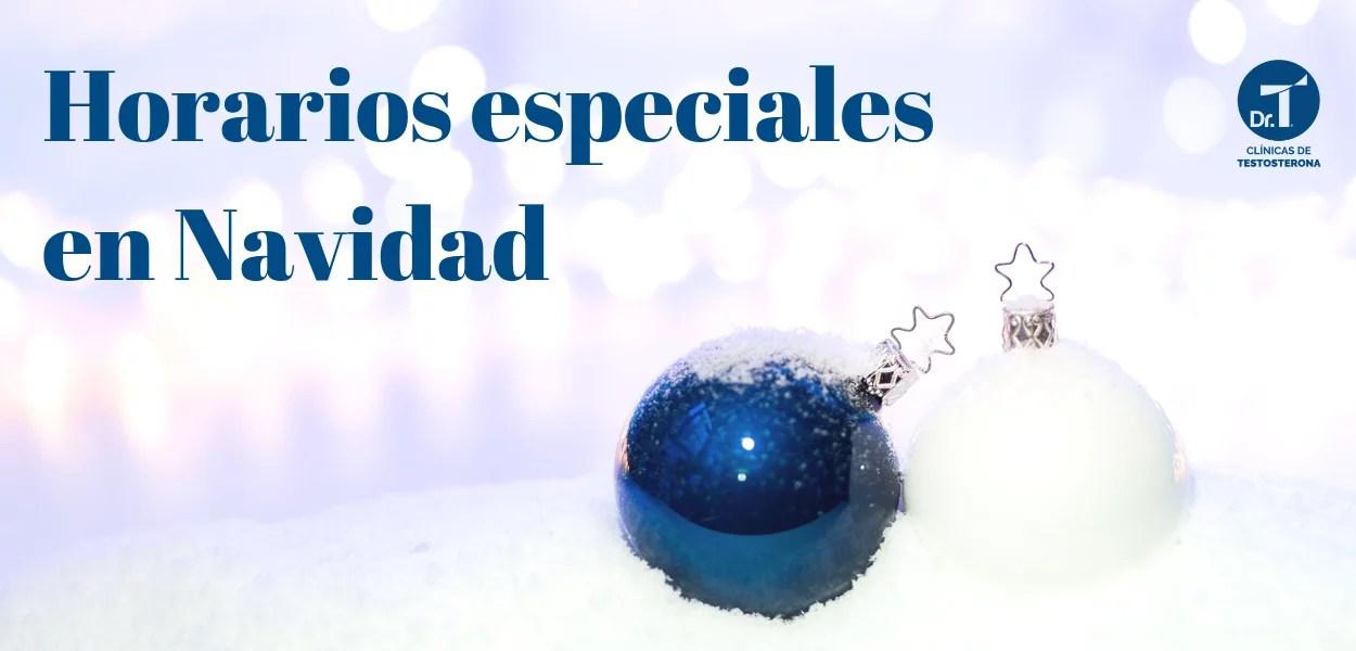 Horarios especiales en Navidad