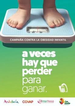 Campaña contra la obesidad infantil de la junta de Andalucía