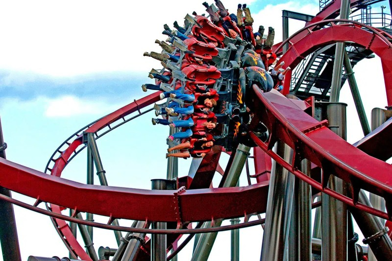 Thorpe Park Guide to Theme Parks and Funfairs in and Near London Clink Hostles