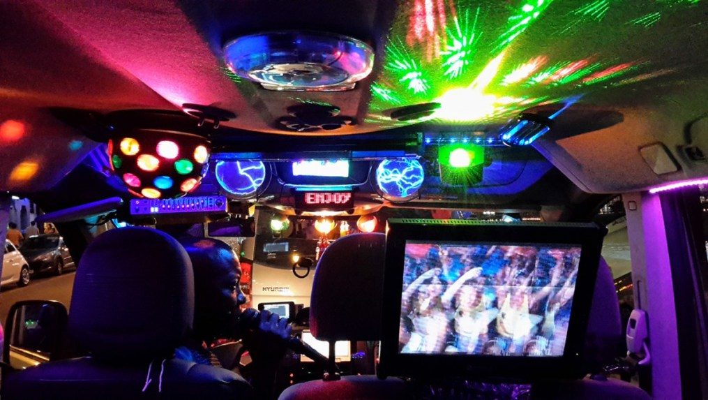 Disco Taxi in Amsterdam