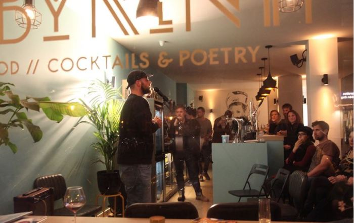Labyrinth cocktail and poetry bar in Amsterdam South