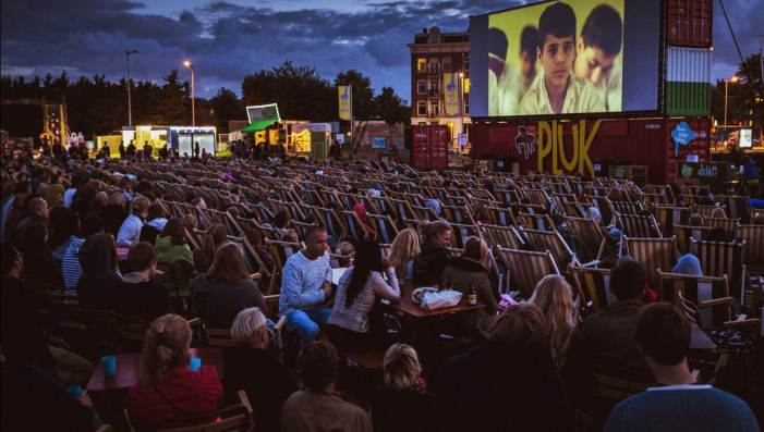 Open Air Cinema Clink Hostels Outdoor Activities Amsterdam