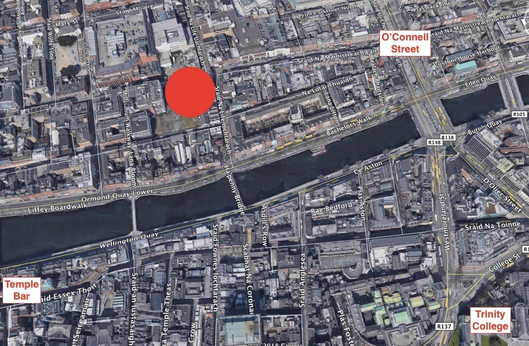 Clink Dublin Map Location