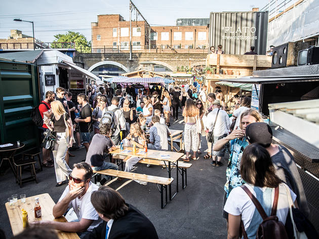 Netil Market Clink Hostels Best Street Food London