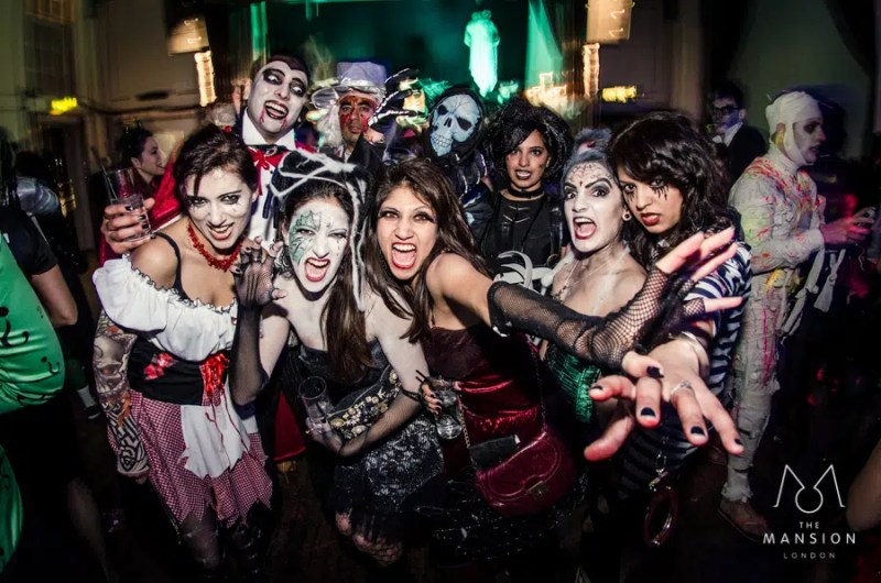 Halloween Ball at The Mansion London | Clink Hostels