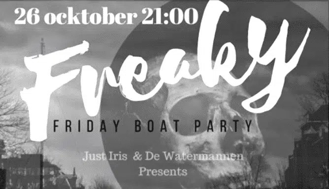 Freaky Fridy Halloween Boat Party Amsterdam
