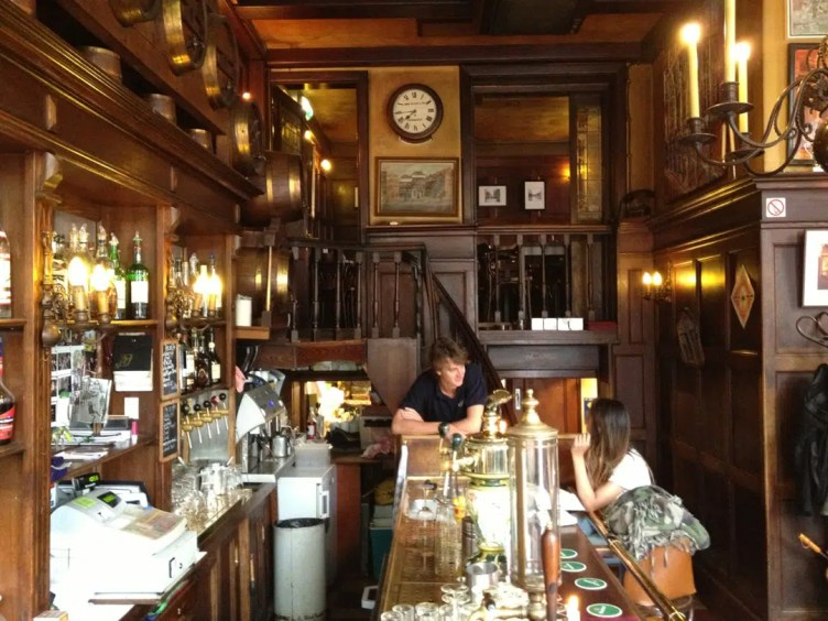 Cozy Bars in Amsterdam Café t'smalle Amsterdam Clink Hostels
