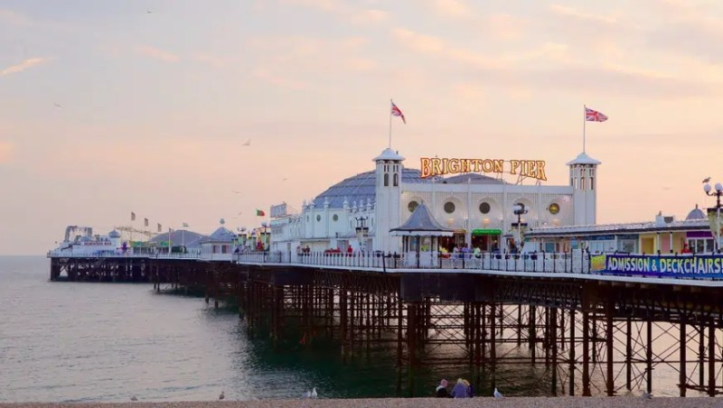 Brighton Pier Day trips from London Clink Hostles