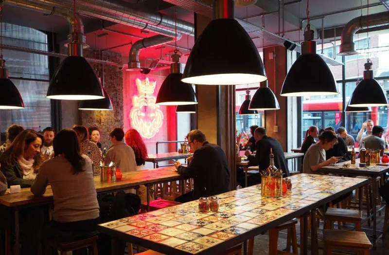 Pizza Union Top things to do in Kings Cross Clink Hostels