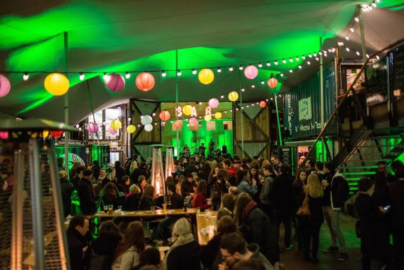 Pop Brixton St. Patricks Day in London Clink Hostels
