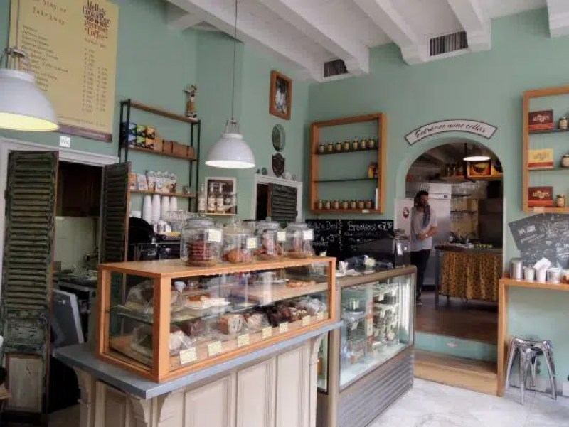 Mellys Cookie Bar Top places to Grab a Coffee In Amsterdam