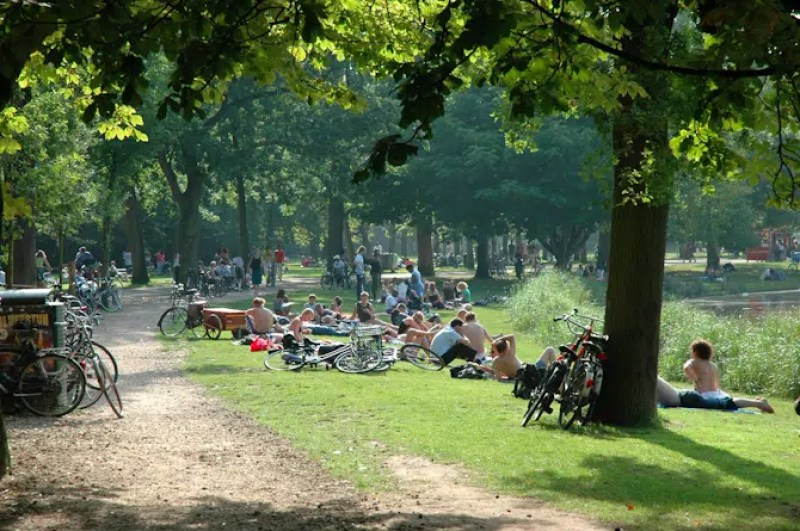 Vondel Park Top Things to do over Easter in Amsterdam Clink Hostels