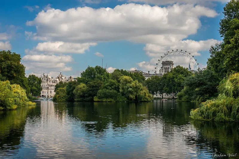 St James Park Picnic top picnick spots in London Clink Hostels