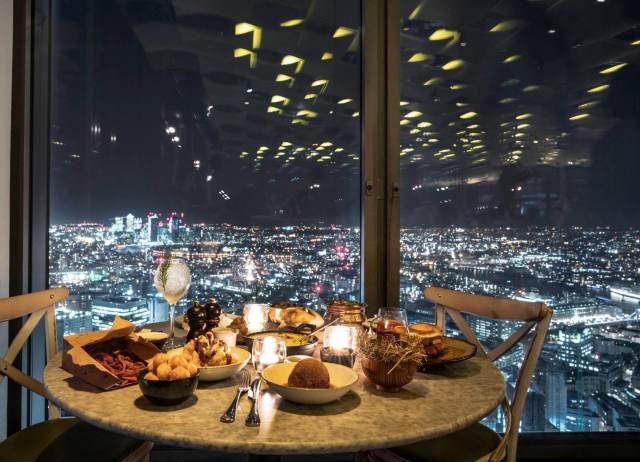 Christmas at Duck and Waffle