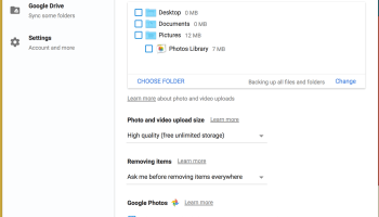 Google Backup And Sync Gets Big Improvements In Latest Update