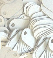 white p-tags