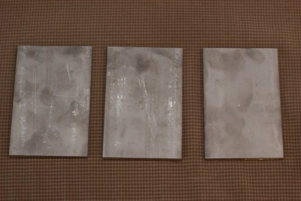 New blank backer plates.
