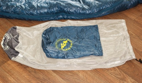Big Agnes Flume UL 30 Stuff and Storage Sacks