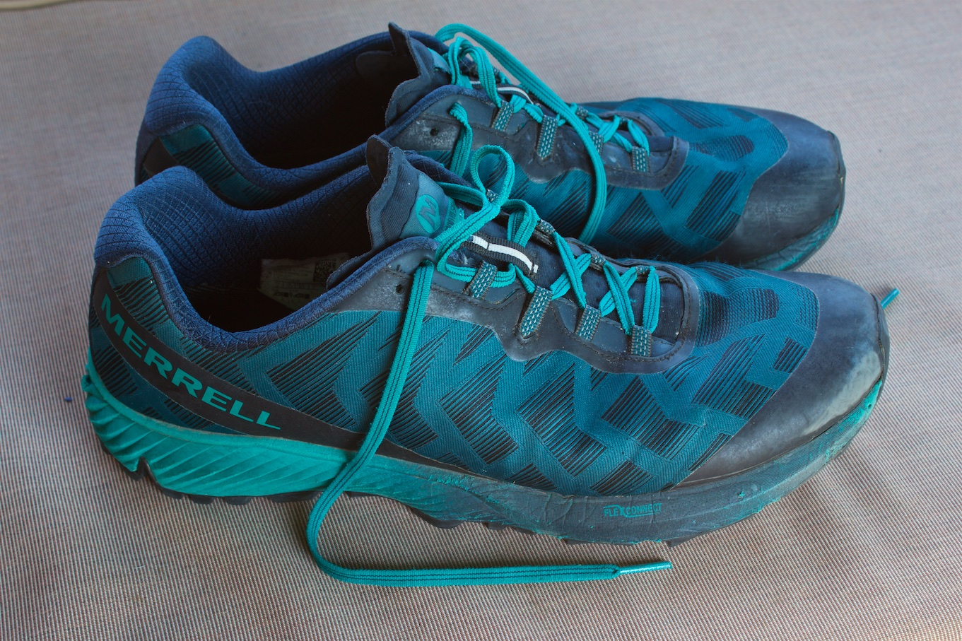 The Merrell Agility Synthesis Flex Trail Running Shoe