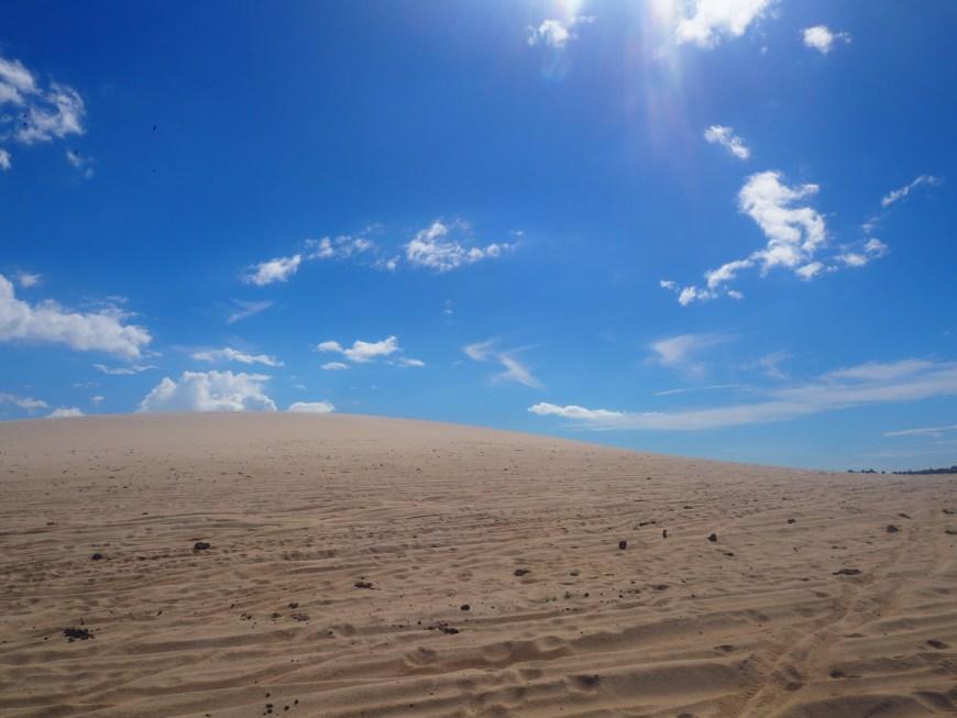 Les dunes de sable, Jericoacoara, Ceara, Brésil
