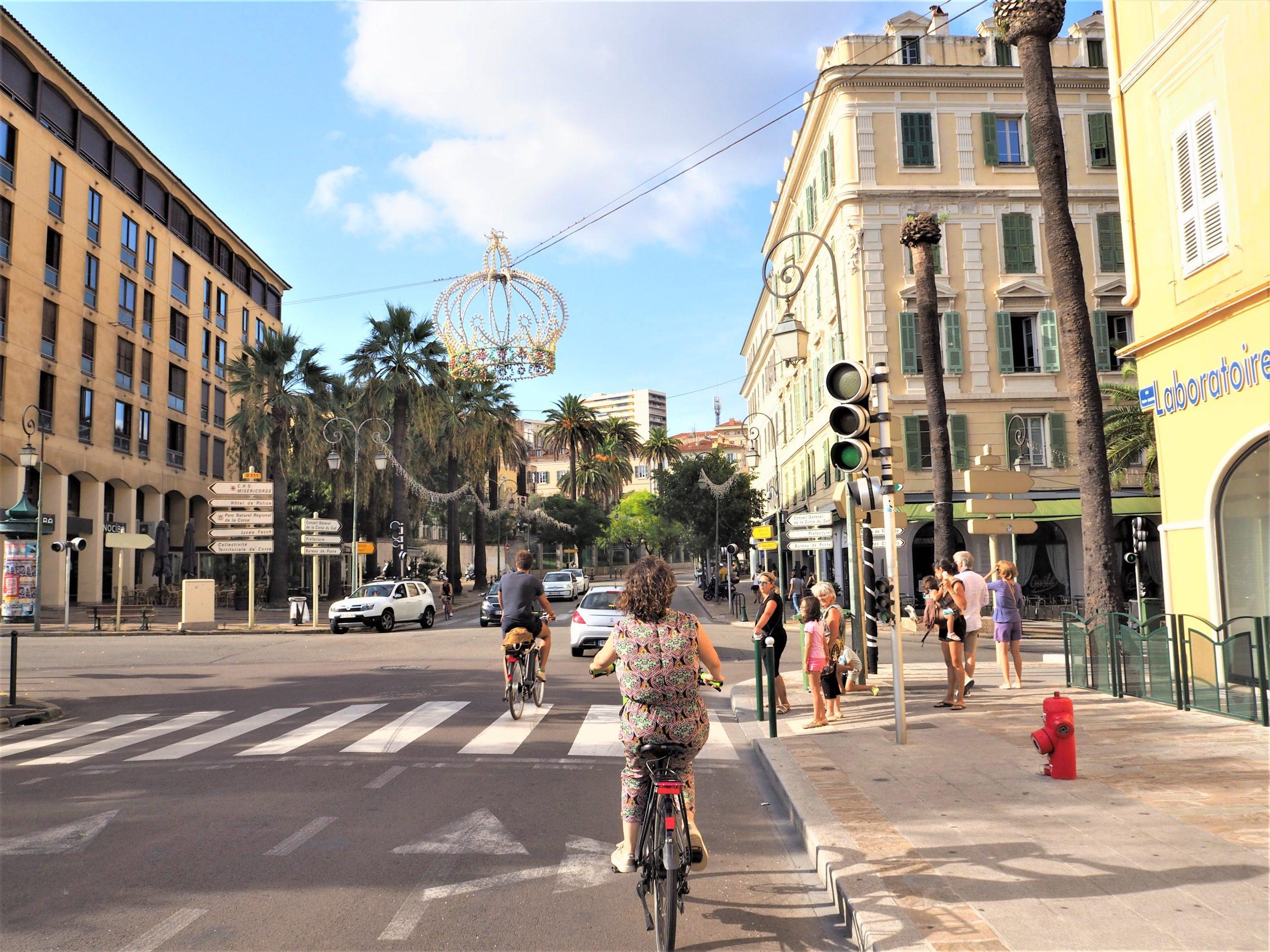 Ajaccio Cour Napoléon Corse voyage blog clioandco