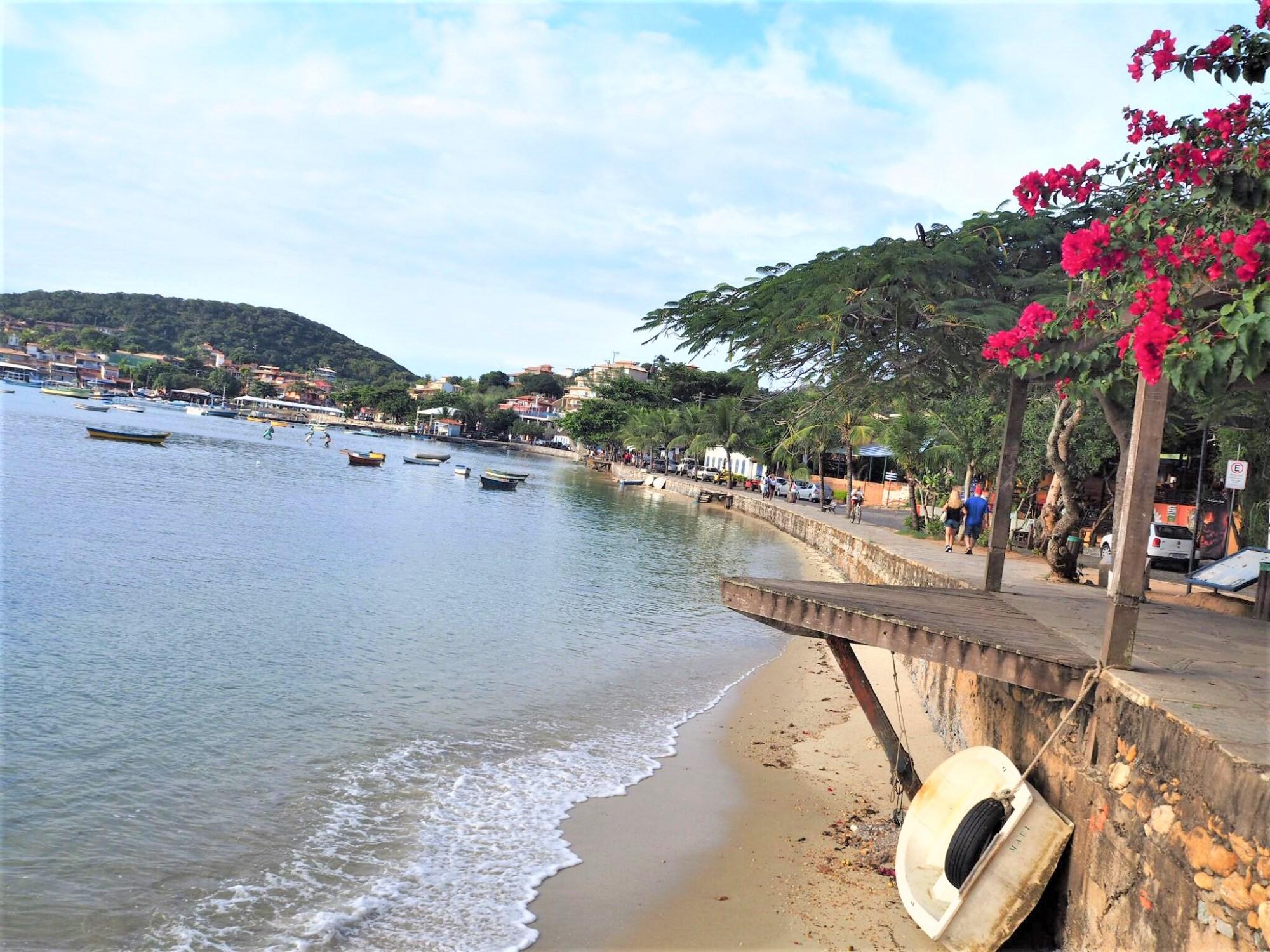 Buzios brésil voyage Eglise clioandco bord de mer
