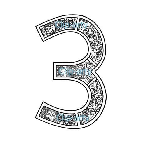 number 3 # 50