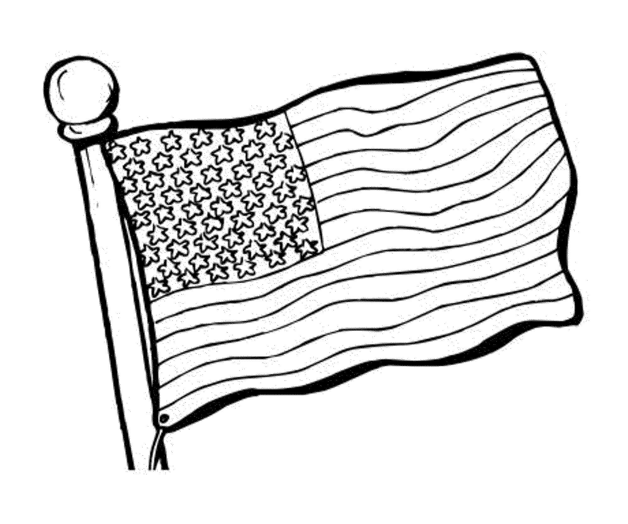 American Flag Coloring American Flag Coloring Book Eagle