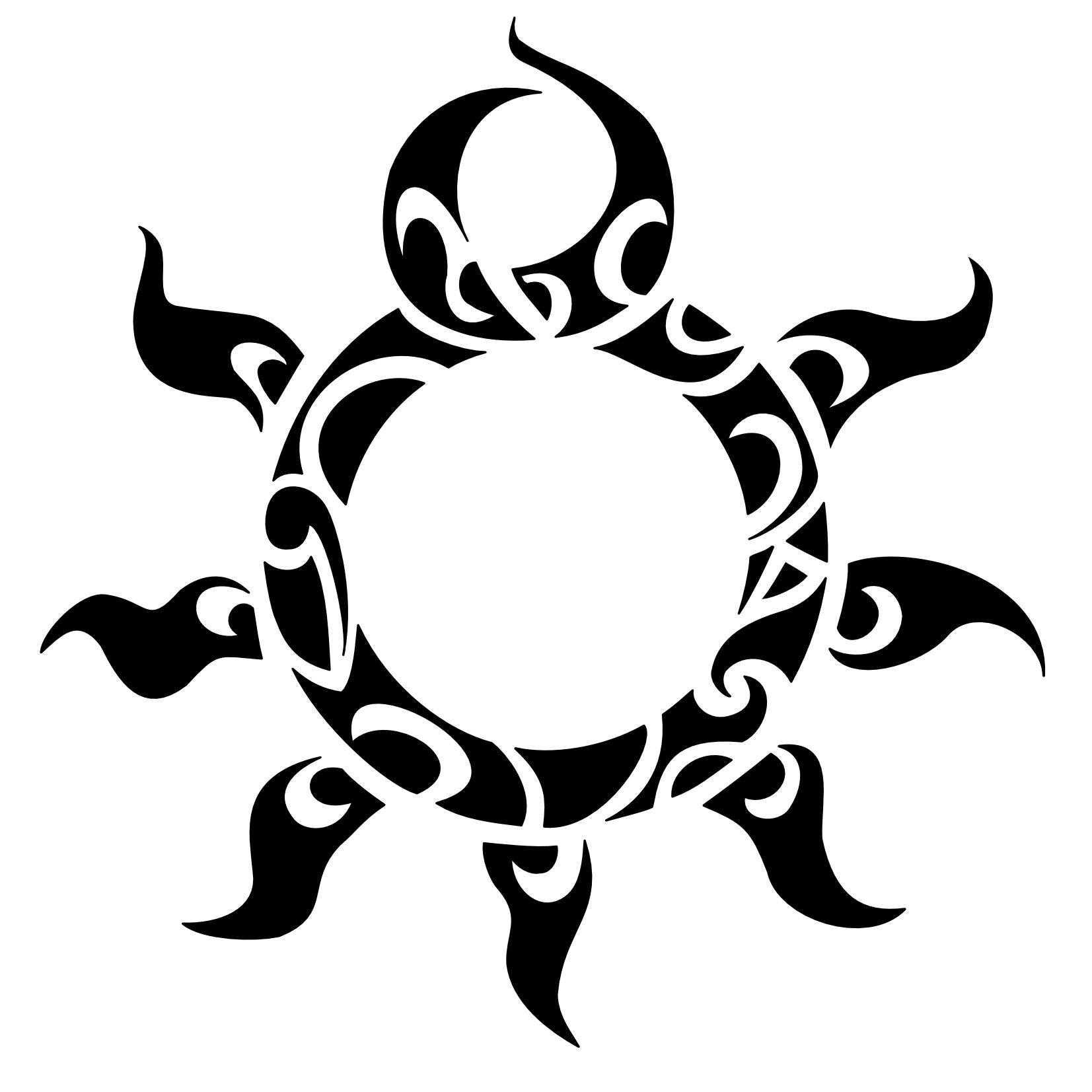 Egyptian Sun Tattoo
