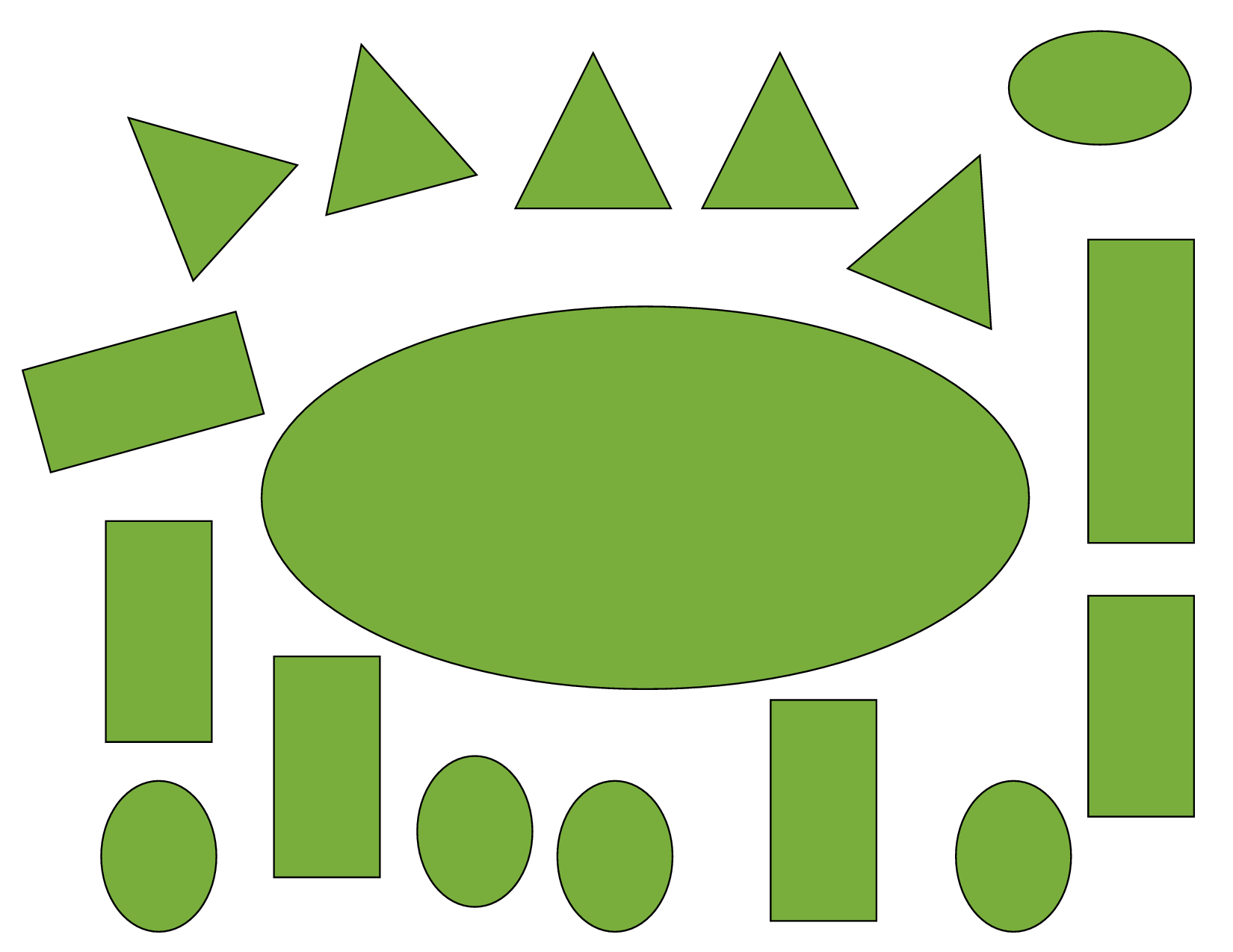 Craft Shape Templates