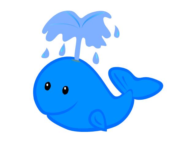 Cute Free Whale Clip Art