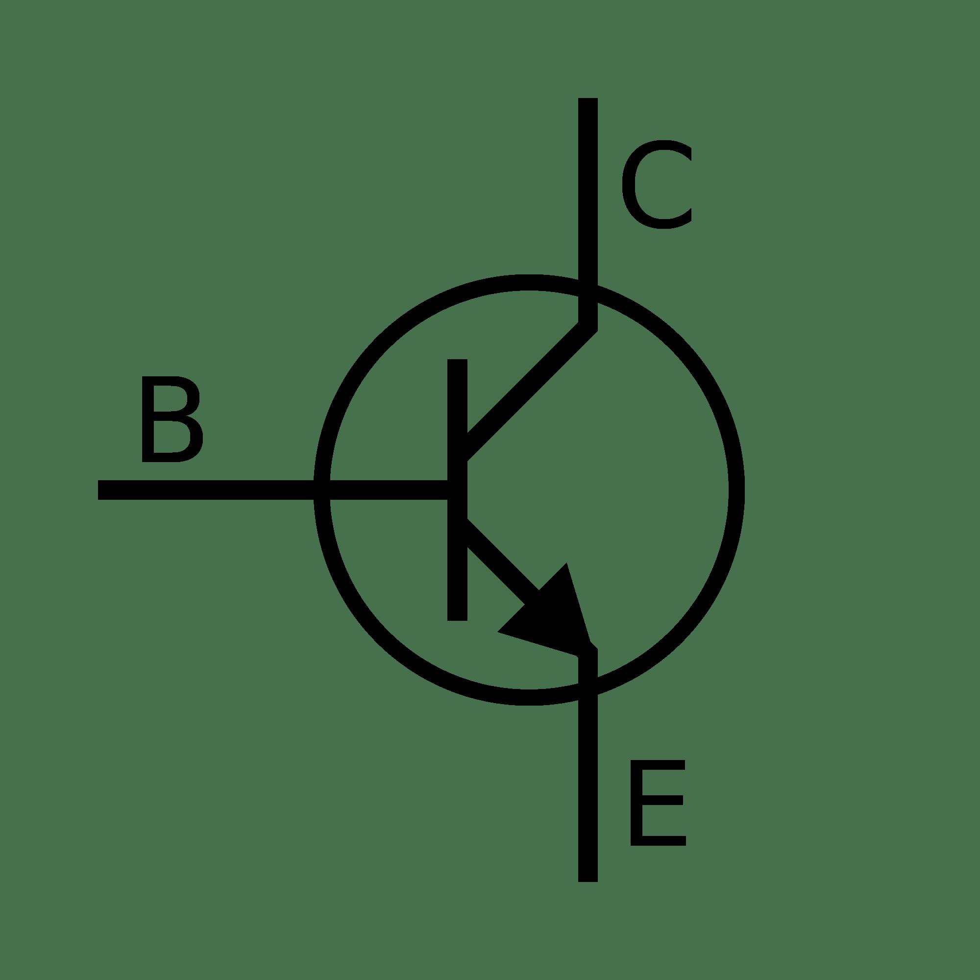 Npn Transistor Symbol