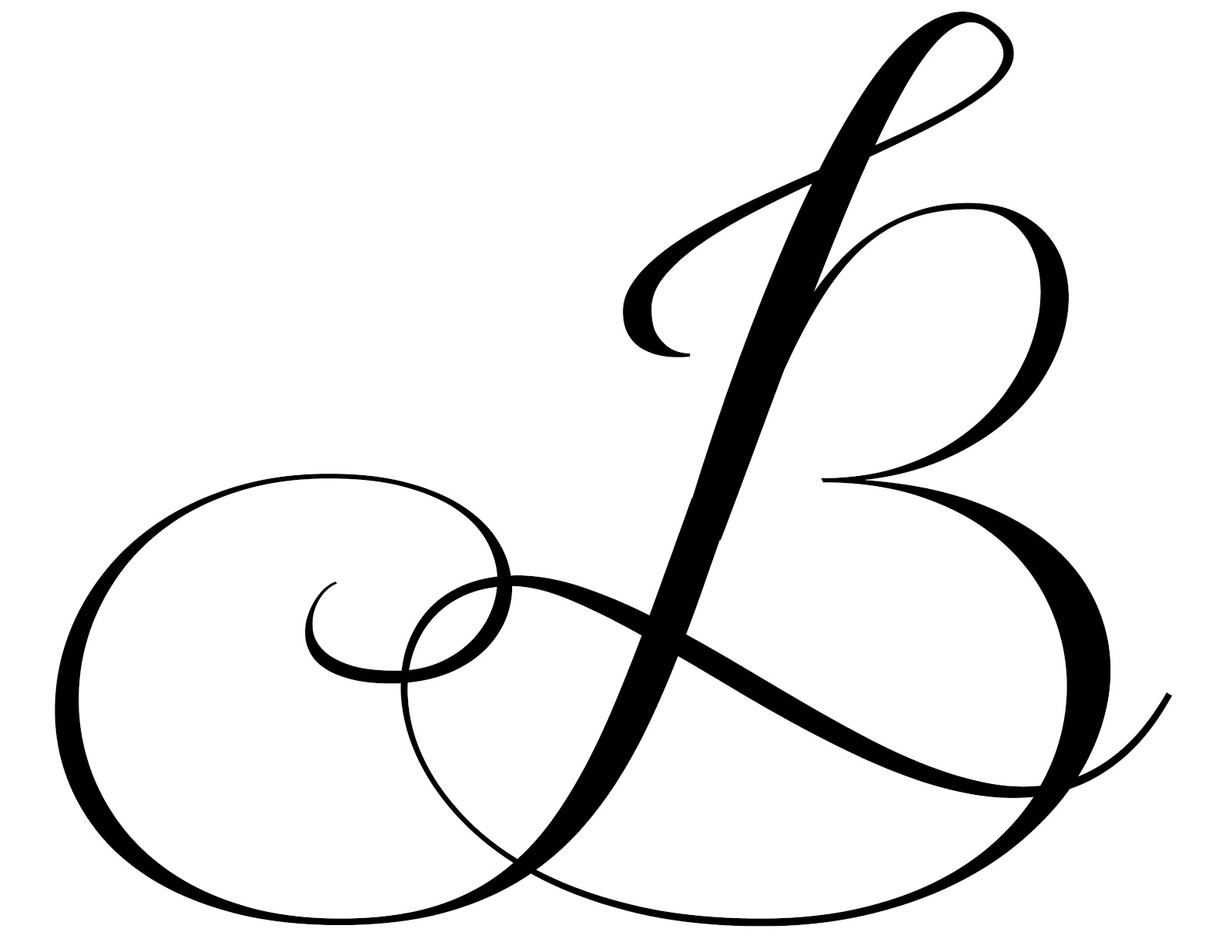 Fancy Letter B Designs