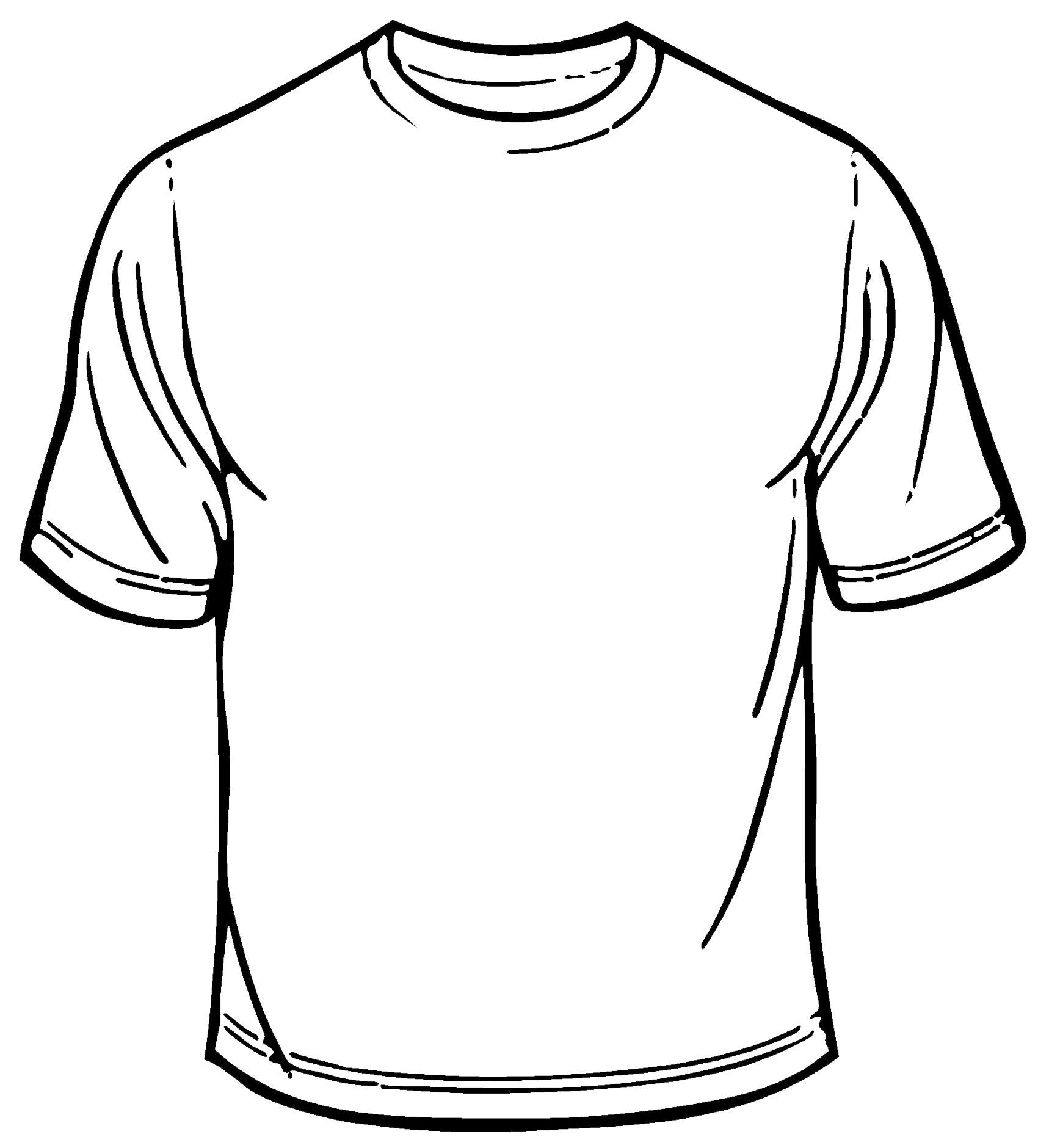 T Shirt Template Blank